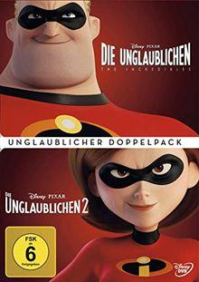Die Unglaublichen 1+2 (Doppelpack) [3 DVDs]