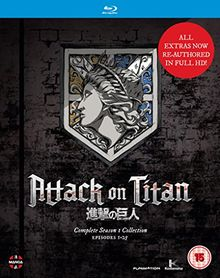 Attack On Titan: Complete Season One Collection [Blu-ray] [UK Import]