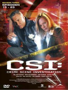CSI: Crime Scene Investigation - Season 3.2 (3 DVD Digipack)