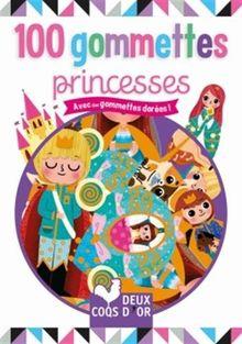 100 gommettes princesses