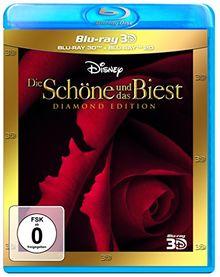 Die Schöne und das Biest Diamond Edition 3D + 2D [3D Blu-ray]