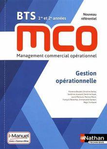 Gestion opérationnelle BTS 1re et 2e années MCO