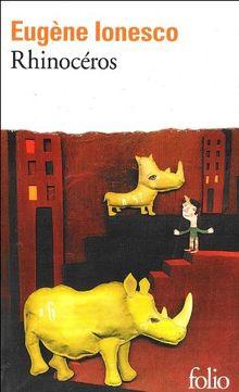 Rhinocéros: Piece en trois actes et quatre tableaux (Folio)