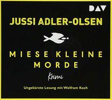 Miese kleine Morde. Crime Story: Ungekürzte Lesung mit Wolfram Koch (2 CDs)