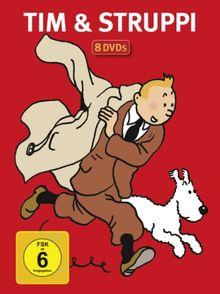 Tim & Struppi - Jubiläums-Sonderedition [8 DVDs]