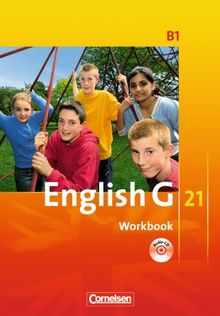 English G 21 - Ausgabe B: Band 1: 5. Schuljahr - Workbook mit CD