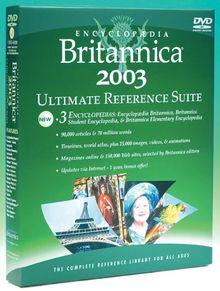Encyclopaedia Britannica 2003