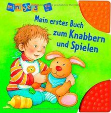 ministeps® Bücher: Mein erstes Buch zum Knabbern und Spielen: Ab 6 Monaten