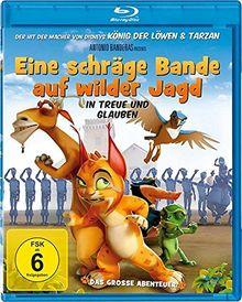 Eine schräge Bande auf wilder Jagd [Blu-ray]