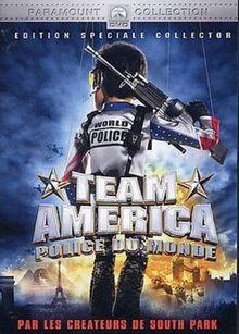 STUDIO CANAL - TEAM AMERICA : WORLD POLICE (1 DVD)