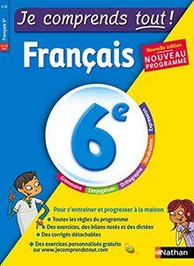 Français 6e Je comprend tout !