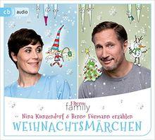 """Eltern family Weihnachtsmärchen: Nina Kunzendorf und Benno Fürmann erzählen Hans Christian Andersen: """"Die Schneekönigin"""" und Charles Dickens: """"Eine Weihnachtsgeschichte"""""""