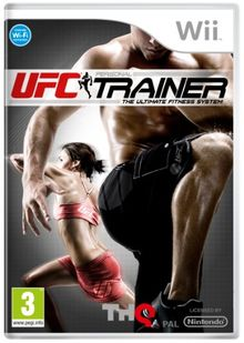[UK-Import]UFC Trainer Includes Leg Strap Game Wii