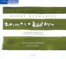 Henry Desmarest: Grands Motets (Vol.2) - De Profundis / Veni Creator / Cum Invocarem