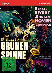Das Rätsel der grünen Spinne / Kultige Edgar-Wallace-Epigone mit Starbesetzung (Pidax Film-Klassiker)