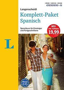 Langenscheidt Komplett-Paket Spanisch - Sprachkurs mit 2 Büchern, 7 Audio-CDs, 1 DVD-ROM, MP3-Download: Sprachkurs für Einsteiger und Fortgeschrittene (Langenscheidt Komplett-Paket ((NEU)))