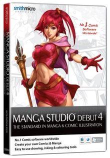 Manga Studio Debut 4.0 Mac/Win engl.