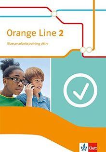 Orange Line / Klassenarbeitstraining aktiv mit Multimedia-CD 6. Klasse: Ausgabe 2014