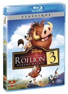 Le roi lion 3 : hakuna matata [Blu-ray]