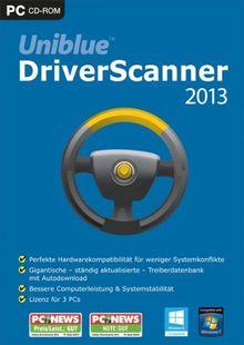 Uniblue Driver Scanner 2013