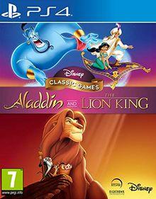 Disney Aladdin Classic Games und The Lion King PS4-Spiel