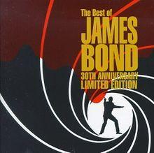 Best of James Bond/30th Anniv. [Musikkassette]
