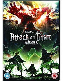 Attack on Titan - Season 2 [DVD] [2018] [UK Import]