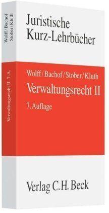 Verwaltungsrecht, 3 Bde., Bd.2: Band 2