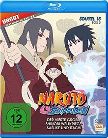 Naruto Shippuden Staffel 15 Box 2 (555-568, 14 Folgen) (2-Disc-Set) (Blu-ray)