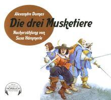 Die drei Musketiere. 3 CDs