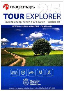 Tour Explorer 25 Hessen - Rheinland-Pfalz - Saarland Version 4.0