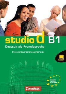 Gesamtband 3 (Einheit 1-10) - Europäischer Referenzrahmen: B1: Unterrichtsvorbereitung interaktiv auf CD-ROM. Unterrichtsplaner, Arbeitsblattgenerator und andere Tools (Studio d)
