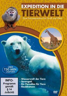 Expedition in die Tierwelt [4 DVDs]