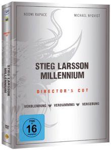 Stieg Larsson - Millennium Trilogie (Director's Cut) [3 DVDs]