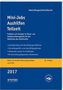 Mini-Jobs, Aushilfen, Teilzeit 2017