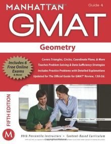 Geometry GMAT Strategy Guide, 5th Edition (Manhattan GMAT Preparation Guide: Geometry)