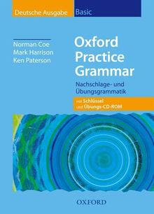 Oxford Practice Grammar. Basic. Student's Book with Key and Practice-Plus CD-ROM in Pack