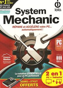 System Mechanic 2 en 1 (Pour PC + Tablette)