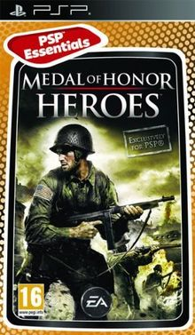 MEDAL OF HONOR HEROES PSP EN