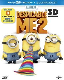 Despicable Me 2 (3d+2d+Uv) [Blu-ray] [Import]
