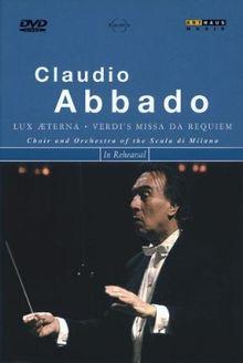 """Verdi, Giuseppe - Claudio Abbado probt """"Messa da Requiem"""""""