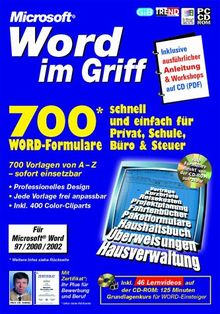 Word im Griff: 700 Formulare