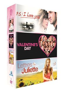 Coffret romances : p.s. : I love you ; valentine's day ; lettres à juliette [FR Import]