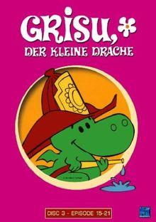 Grisu, der kleine Drache Disc 3 - Folgen 15-21 [3 DVDs]