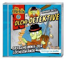 Olchi-Detektive 7 - Das Geheimnis der Löcherwände (CD): Band 7, Hörspiel