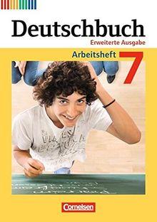 Deutschbuch - Erweiterte Ausgabe: 7. Schuljahr - Arbeitsheft mit Lösungen
