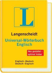 Universal-Wörterbuch Englisch: Englisch - Deutsch / Deutsch - Englisch