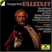 Verdi: Falstaff (Gesamtaufnahme, italienisch)