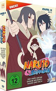 Naruto Shippuden - Staffel 15 - Box 2 (Folgen 555-568, Uncut) [3 Disc Set]