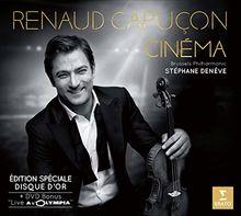 Renaud Capuçon Cinéma - Edition spéciale Disque d'Or + DVD Bonus